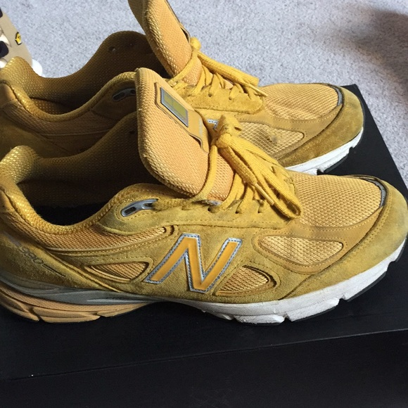 yellow new balance sneakers, OFF 74